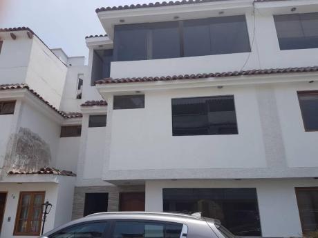 Id - 58627 Linda Casa En Alquiler En Condominio Surco!