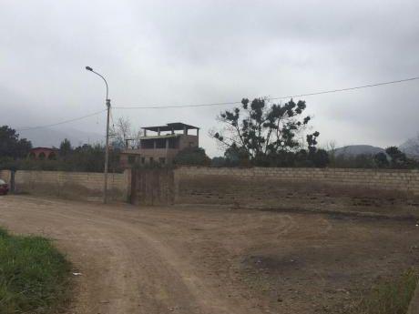 Terreno En Venta Pachacamac