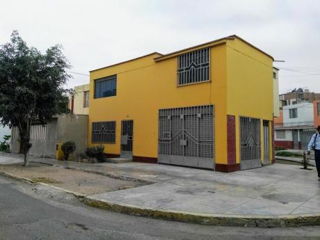 Remate De Casa + Local En Esquina En Urb. La Noria, Trujillo