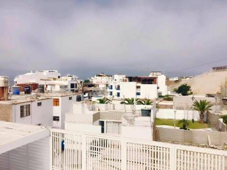 Departamento De Playa Punta Hermosa En El Malecon