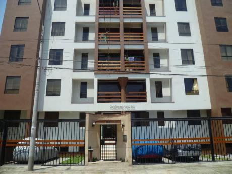 Departamento En Moderno Condominio Villa Sol
