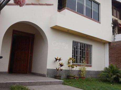 Casa En Venta En San Borja Norte Remodelada 2 Pisos