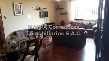 Bellisimo Departamento - La Molina, Limite Camacho, Con Vista A Parque. Linda Zona