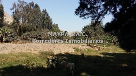 Precioso Terreno En Venta En Cieneguilla A M De La Carretera – 13,923 M2