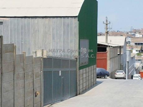 Local Industrial 672 M2 Alquiler - Villa El Salvador
