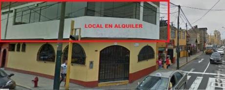 Local En Segundo Piso En Esquina. Ideal Consultorios, Peluqueria, Cevicheria,