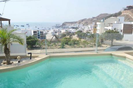 Alquiler Casa De Playa En Naplo Con Preciosa Vista Al Mar
