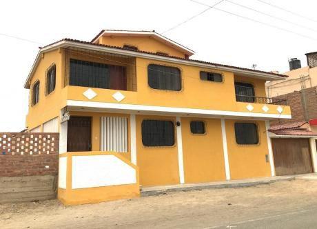 Venta Casa Con Dos Frentes 687 M2 Chilca