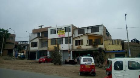 Casa Tres Pisos, Independientes, Av Cesar Vallejo Villa El Salvador