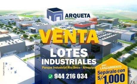 Venta De Terrenos Industriales Río Seco 500 M2