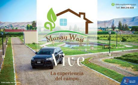Munay Wasi, Terrenos En La Joya De 500 M2
