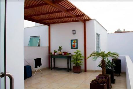 Precioso Departamento Con Terraza A Pasos Del Malecon Duplex 2 Dorms
