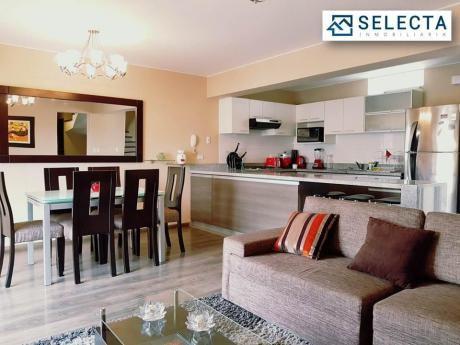 Lindo Duplex Pent - House De 180 M2, 3 Dorm. – En El Corazón De Miraflores