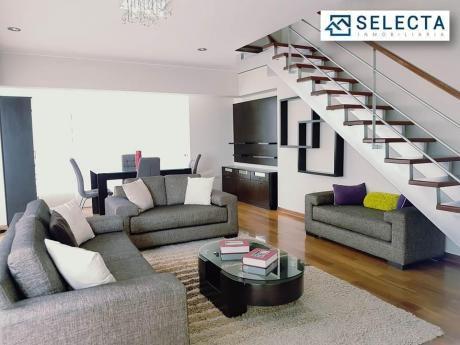 Precioso Duplex De 140 M2, 3 Dorm. - En El Corazón De Miraflores