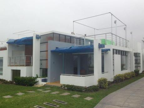 Casa De Playa Palabritas Asia, 2 Fila, Excelente Estado