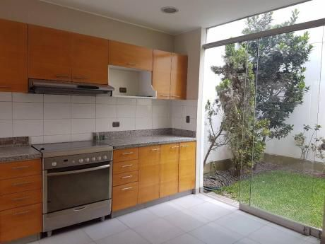 Alquiler Casa En Condominio Surco (los Granados) - Moderna, Jockey Plaza