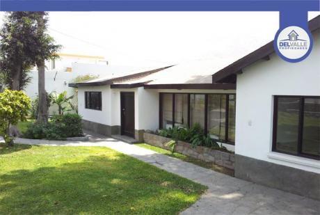 ¡oportunidad! Vendo Linda Casa En Chaclacayo C/piscina - 1000 M2.