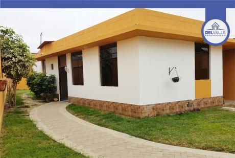 Alquiler De Casa En Piura | Urb. Cocos Del Chipe - 160 M2.