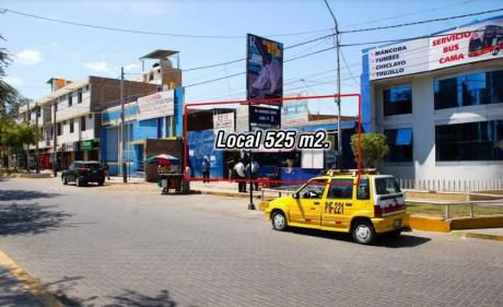 Venta - Local Comercial En Piura - Av Sanchez Cerro - 525 M2.