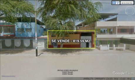 Venta De Terreno En Av Progreso - 819.59 M2 | Castilla, Piura.