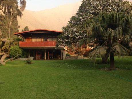 Residencia Campestre Estilo Tirolés En Santa Inés Chaclacayo