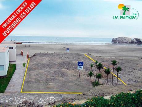 Venta De Lote Con Excelente Vista Al Mar En Condominio Las Palmeras A6 Lt4
