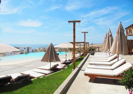 Venta De Lote Con Excelente Vista Al Mar En Condominio Las Palmeras - A7 Lote 1