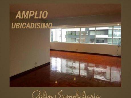 Alquilo Amplio Departamento Remodelado En Camino Real San Isidro