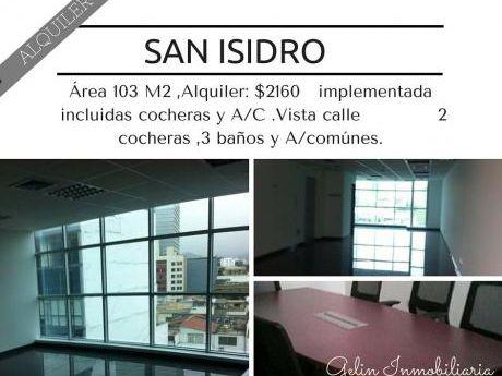 Alquilo Oficinas De Estreno Implementadas Precio De Ocasión En San Isidro
