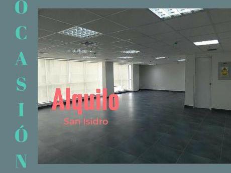 Alquilo Oficina San Isidro Implementada