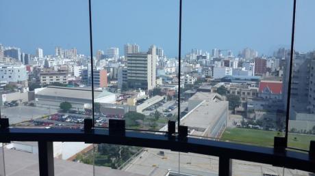 Oficina Moderna Pardo Con Martir Olaya Vista Panorámica 88 M2 $1,190