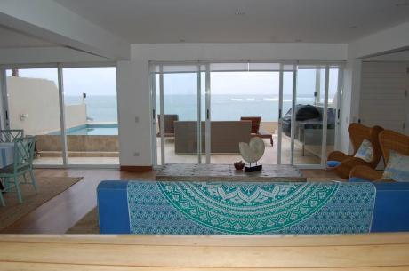 Primer Fila Casa De Playa Con 6 Dorms En Playa Señoritas, Punta Hermosa
