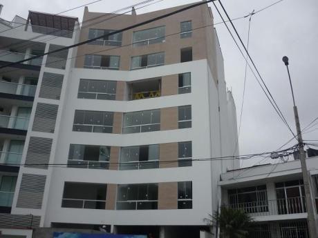 Flats #303 Rebajados De 55 M2, 1 Dorm + Estudio Vista Interior Magdalena Del Mar