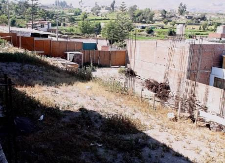Remate De Terreno En Cayma (parte Baja)