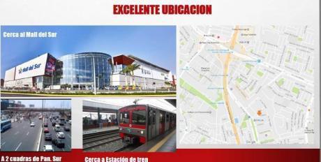Local Industrial S. J. Miraflores 1010 M2 - Con Nave Y Oficinas