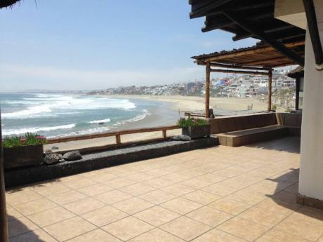 Vendo Casa De Playa Pulpos 1era Fila. Impecable En La Zona Mas Exclusiva.