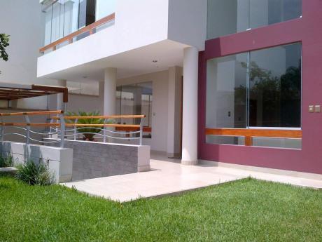 Vendo Linda Moderna Y Muy Iluminada Casa En La Molina