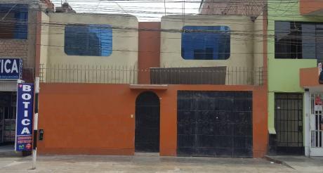 Casa Comercial En San Martín De Porres - Av Los Olivos