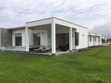 Bellisima Casa En Venta En El Balneario Las Gaviotas Km 99 Asia