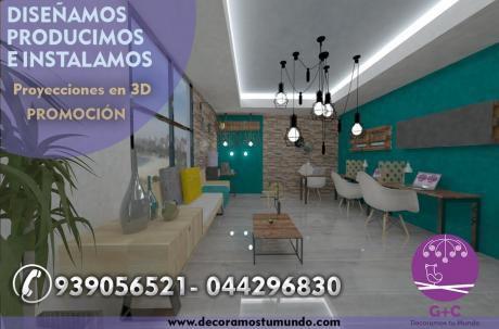 Diseño De Interiores: Decoraciones, Remodelaciones Y Mas