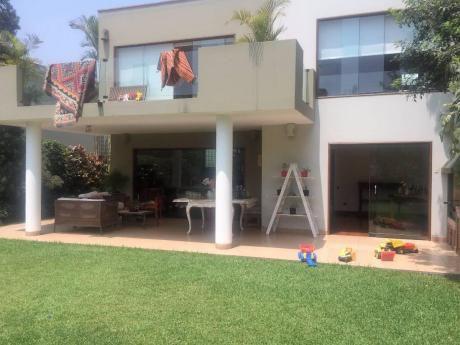 Casa En Exclusivo Condominio En Sol De La Molina