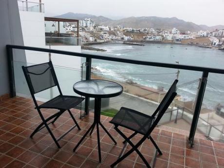 Alquiler Departamento 3 Dorm. Amoblado Con Vista Al Mar San Bartolo