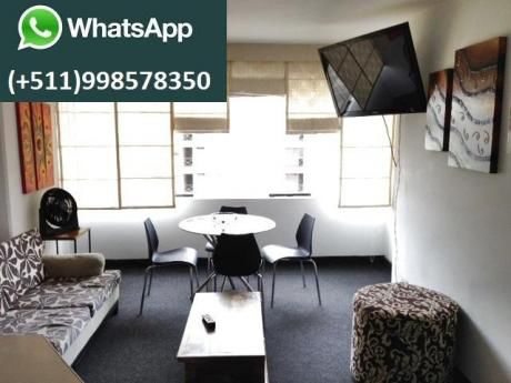 Apartments In Miraflores Per Day / Por Dia Wifi / From / Desde $42 P/D Central
