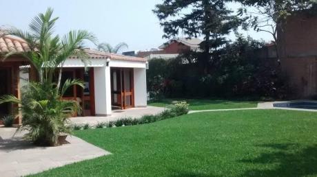 Vendo Bonita Residencia En Condominio Camacho - La Molina