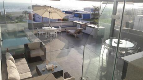 Club Playa Las Palmeras Espectacular Vista Al Mar – Casa En Alquiler Us$5,000