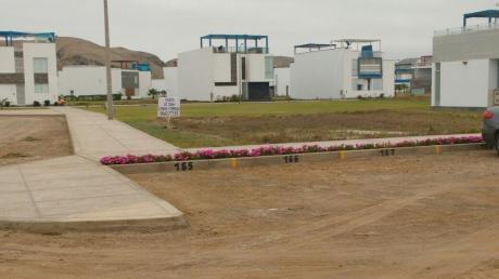 Venta Terreno 128 M2 En Playa Puesta Del Sol Chocalla Km. 92
