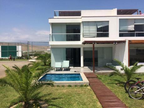 Casa De Playa, No Departamento.