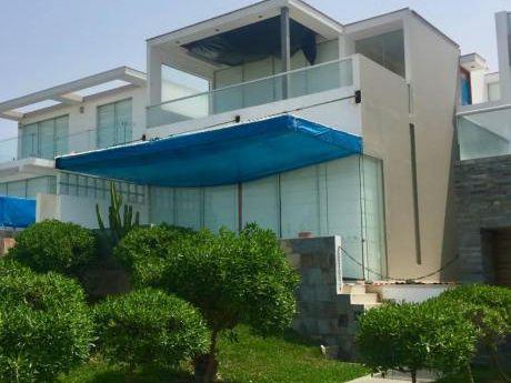 Bella Casa De Playa En Primera Fila - Las Palmeras Km 123.7