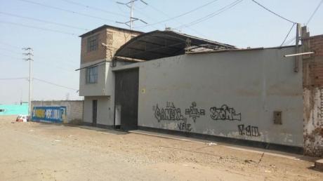 Inversión Terreno Industrial Plena Zona Industrial De Villa El Salvador