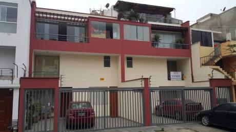 Departamento Duplex Tipo Chalet En 1er Piso - La Molina